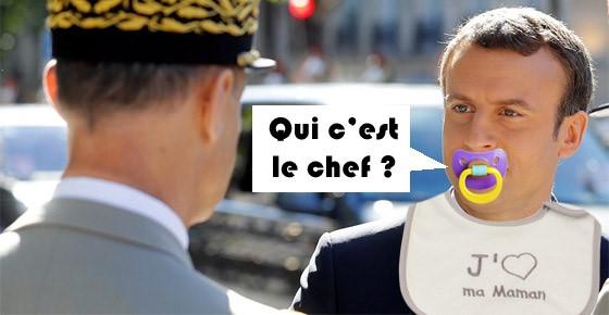 Macron : quand les incapables voleront, il sera chef d'escadrille